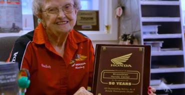 Honda Kokoro Video Spotlights 98-Year-Old Honda Dealer Helen Musselman