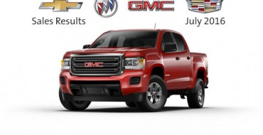 GM Canada Reports Sales of 21,255 Vehicles in July