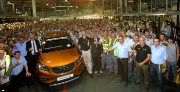 Production of Opel Mokka X Kicks off in Spain