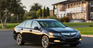 2017 Acura RLX Priced at $54,450 and Goes on Sale Tomorrow, September 22