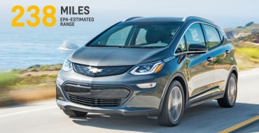 2017 Chevy Bolt EV to Carry 238-Mile Range, $37,500 Price Tag