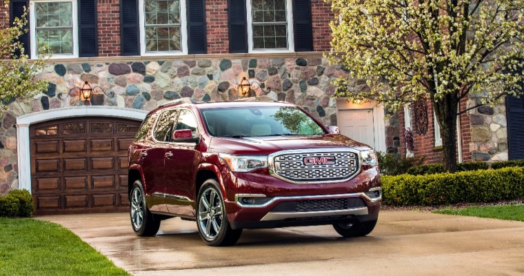 GMC Acadia, Canyon See Sales Gains in October