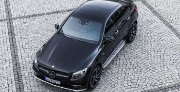 2017 Mercedes-AMG GLC43 Coupe to Debut at Paris Motor Show
