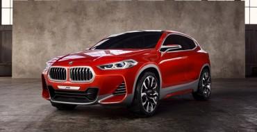 BMW Concept X2 Unveiled in Paris