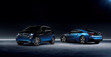 BMW i3 and BMW i8 Get a New Look in Paris