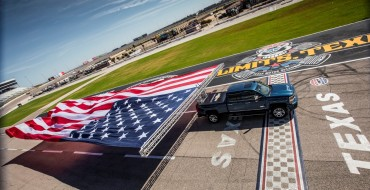 Chevy Shows Power of New Silverado HD by Towing Massive US Flag