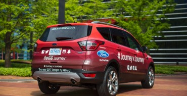 2017 Ford Escape Leads Cross-Country Coca-Cola Journey