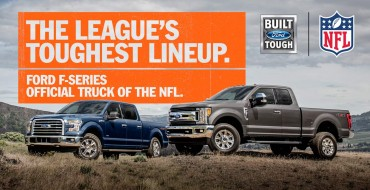 Ford F-Series Named Official Truck of the NFL