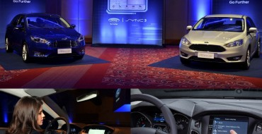 Ford Launches SYNC 3 for Brazil in 2017 Focus
