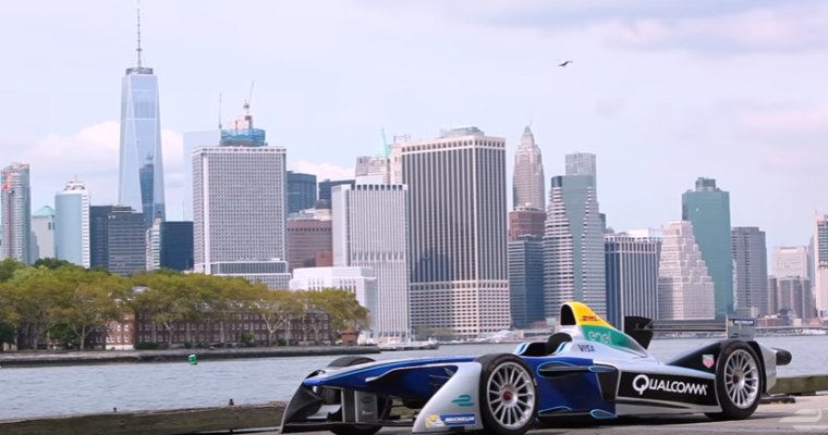 Formula E to Race First New York City ePrix in Brooklyn