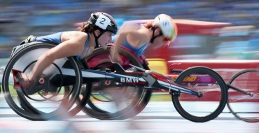 BMW Racing Wheelchairs Carry Team USA To Victory in Rio
