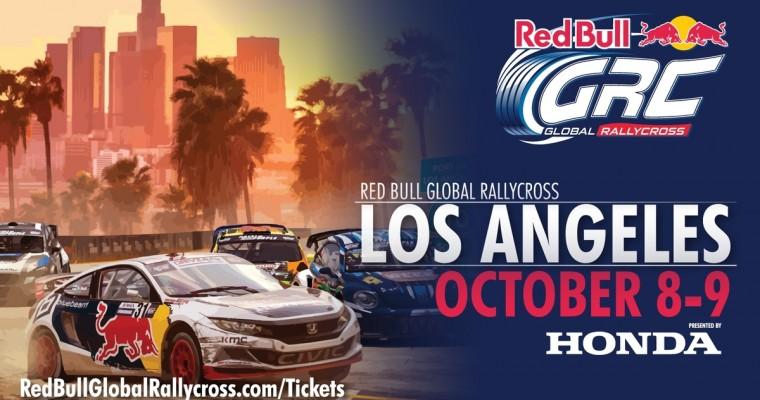 Honda Sponsors Red Bull Global Rallycross Season Finale in LA