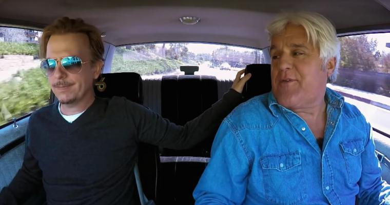 Jay Leno Drives David Spade's 1987 Buick Grand National