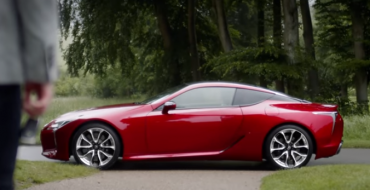 Lexus Releases New Ad Showcasing the LC 500 Coupe's Thunderous V8 Engine