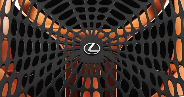 Lexus Shows Off New Car Seat Made of Spider Silk