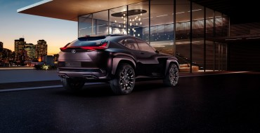 First Look at Lexus UX Concept Foreshadows Brand's Intruiging Plans