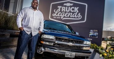 Police Officer Lonzo Anderson Named the Official Chevy Truck Legend of Texas