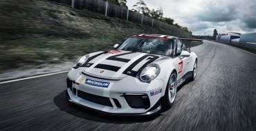 Porsche Rewards Paris Motor Show Visitors with a Glimpse of its New 911 GT3 Cup Racecar