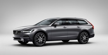 [Photos] Volvo Pulls the Cover Off Its New V90 Cross Country Wagon
