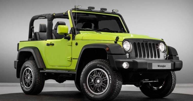 Jeep's Paris Motor Show Lineup Features Moparized Wrangler, Renegade