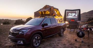 Mythbuster Adam Savage Turns Honda Ridgeline Into a Portable Movie Theater [VIDEO]