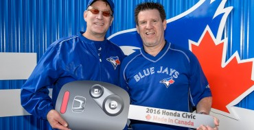 Honda Canada Gives Away 2016 Civic at Toronto Blue Jays Game