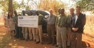 Ford Donates $25K to Victoria Falls Wildlife Trust in Zimbabwe