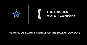 Lincoln Named Official Luxury Vehicle of the Dallas Cowboys