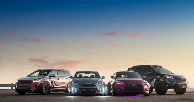 Hyundai Releases Pictures of Its Custom SEMA Cars–and Boy Are They Sexy!