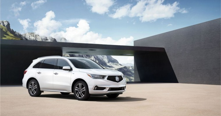 Acura MDX Production Begins at Second American Manufacturing Plant