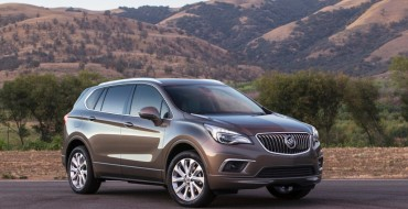 NHTSA Gives 2017 Buick Envision AWD Five-Star Safety Rating