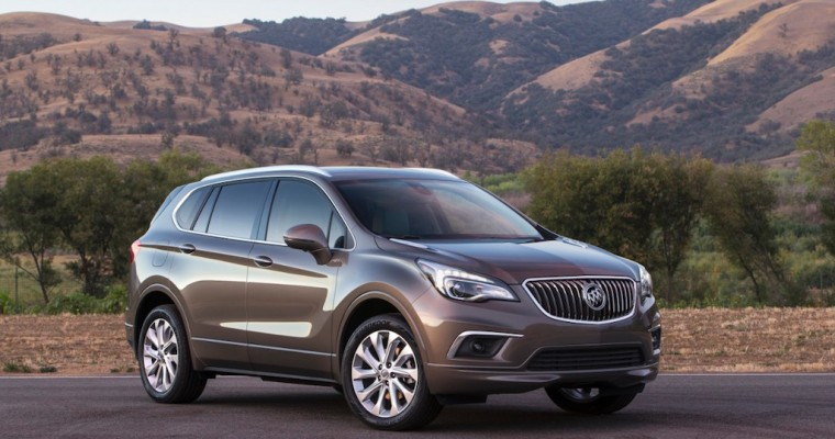Buick Encore, Envision, Cascada Lead October Sales Gains