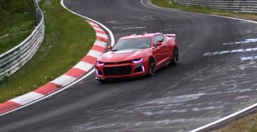 2017 Camaro ZL1 Beats the Last-Gen Model's Nürburgring Time by 12 Seconds [VIDEO]