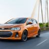 Chevrolet Sonic Receives a New Base Engine and Color for the 2019 Model Year
