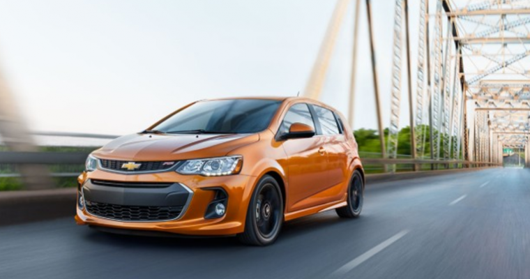 The Chevy Sonic Receives Several Changes for the 2020 Model Year