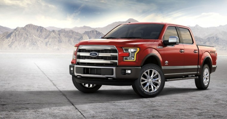 2017 Ford F-150 Snags Trio of Trophies at Detroit Auto Show
