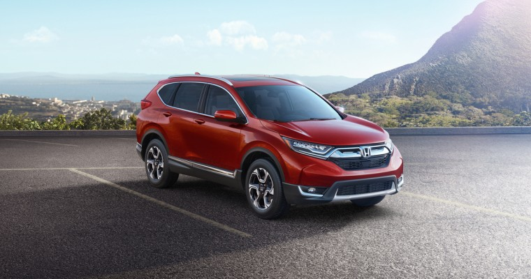 Honda Unveils 2017 Honda CR-V with New Features and Turbo Engine