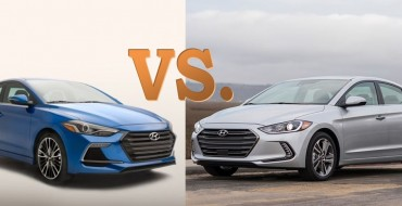 What's the Difference Between the 2017 Hyundai Elantra and Elantra Sport?