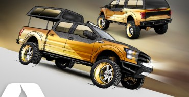 Ford SEMA 2016 Preview: 2016 Gold Standard Ford F-150 Project Truck
