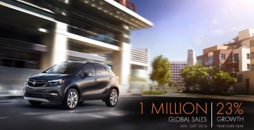 Buick Reaches 1 Million Annual Global Sales in Record Time