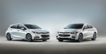 Chevy Reveals Malibu and Cruze RS Blue Line Concepts Ahead of SEMA