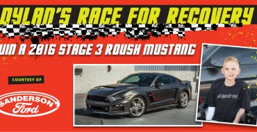 Arizona Dealership Donates 2016 Roush Stage 3 Ford Mustang to Help Pay for Local Boy's Medical Bills