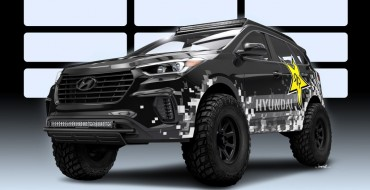 Taller and Turbo-er: Hyundai Santa Fe Gets the Rockstar Treatment