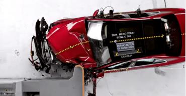 Mercedes-Benz C-Class Earns Prestigious IIHS Top Safety Pick+ Award