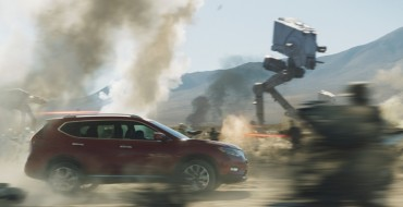 Watch the Nissan Rogue take on the 'Star Wars' Empire