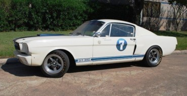Classic Shelby GT350 Ford Mustang Driven by Stirling Moss Being Auctioned