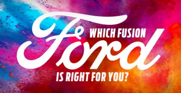 Infographic: Which Ford Fusion Is Right for You?