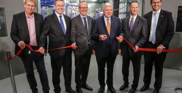 Opel Cuts Ribbon at Global Propulsion Systems Center