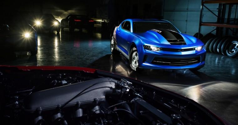 Chevy Introduces 2017 COPO Camaro at SEMA