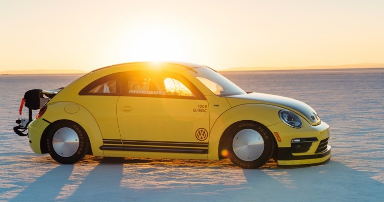Check out the World's Fastest VW Beetle